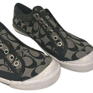 COACH All Over Signature Jacquared Sneakers-size U
